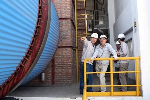 新元公司电石厂#1沸腾炉点火工作圆满完成